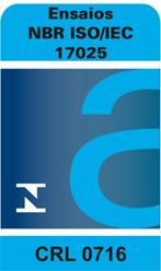 PA laboratório de águas - Acreditação NBR ISO/IEC 17025 - CRL 0716