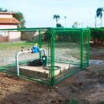 Produto para tratar água de poço artesiano